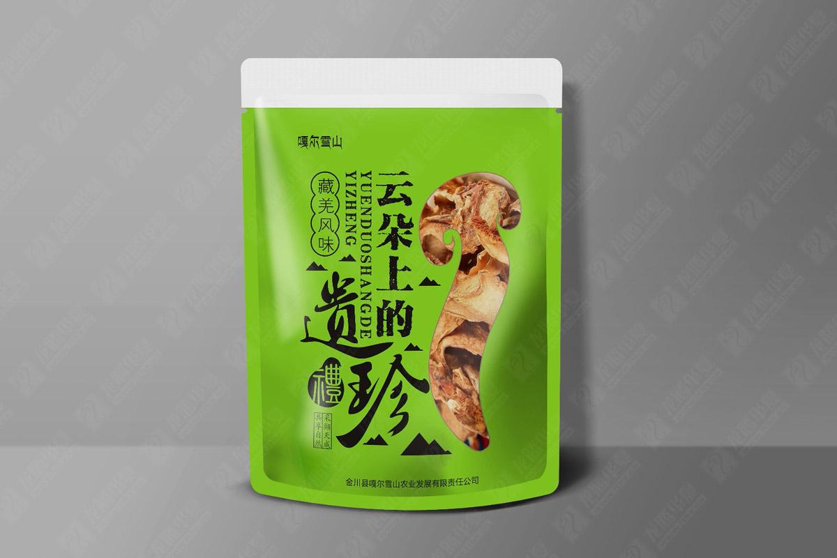 云朵上的遗珍藏羌风味零食包装设计|成都零食包装设计公司|成都食品内包装设计公司|风味小吃包装设计