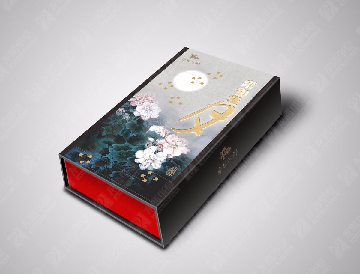 九州岁月月饼包装设计 成都月饼包装设计公司 月饼礼盒包装效果图