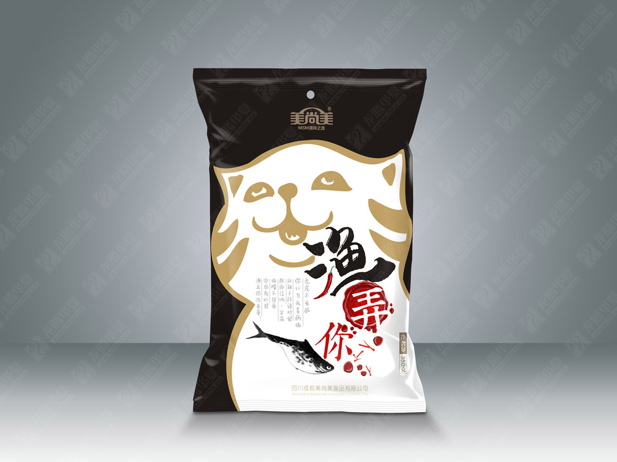 美尚美鱼调料包装设计_成都鱼调料包装设计公司_成都调料包包装设计公司_成都调味品包装设计公司