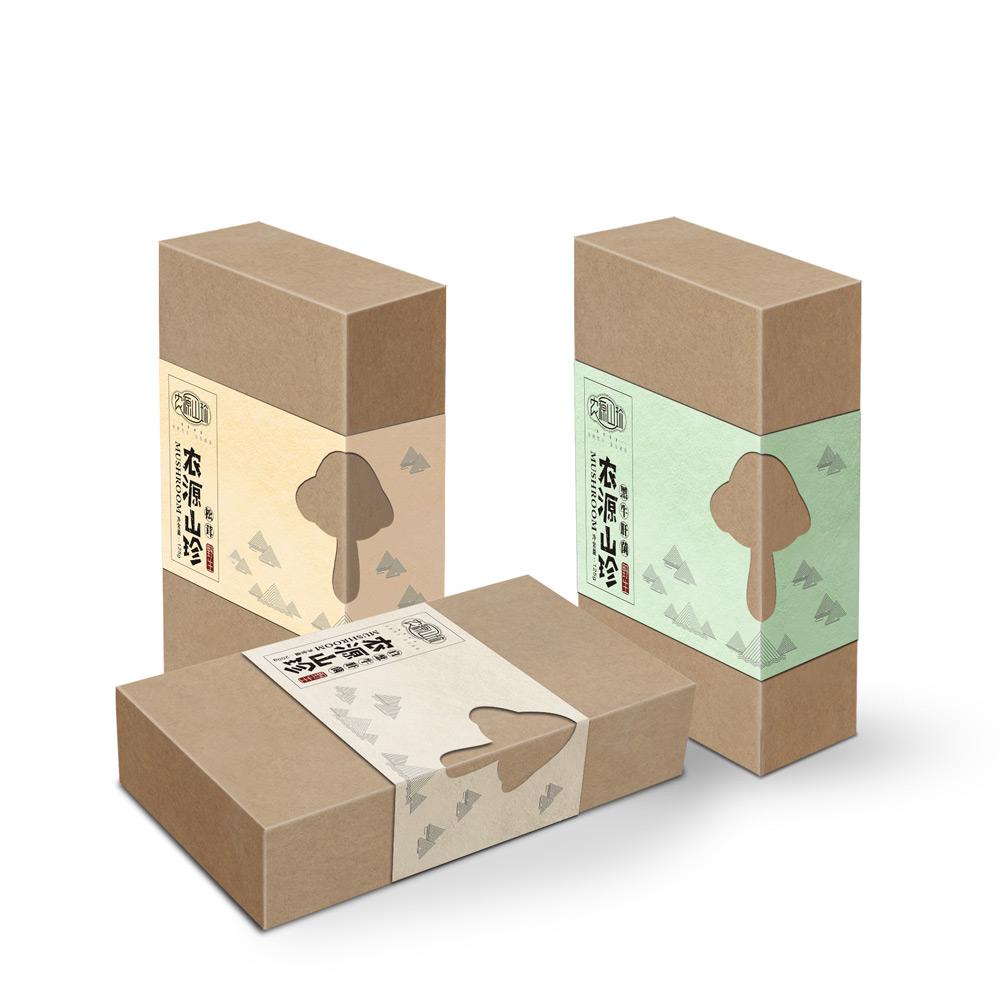 大山山珍菌类包装设计_成都菌类包装设计公司_成都山珍包装设计公司